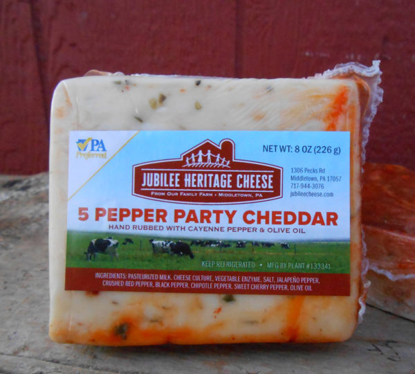 5 Pepper Party CHEDDAR
