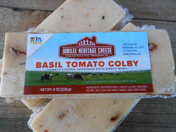 Basil Tomato Colby