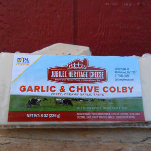 Garlic & Chive Colby
