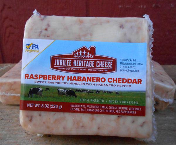 Raspberry Habanero Cheddar